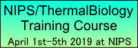 NIPS/ThermalBiology Training course